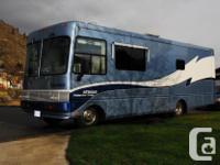 Safari Trek Motorhome, 1999. This 28 foot class A coach