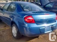 Make Dodge Model Neon Year 2003 Colour blue kms 121000