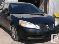 Make Pontiac Model G6 Year 2007 Colour Black kms