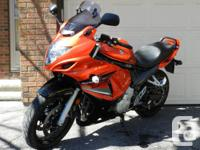 Just in time for spring..... a sport touring bike with