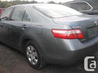 Make Toyota Model Camry Year 2009 Colour Teal kms