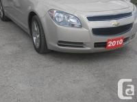 Make Chevrolet Model Malibu Year 2010 Colour Beige kms