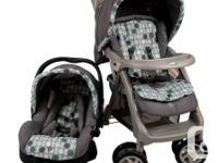 Safety 1st Travel System combines an infant car seat