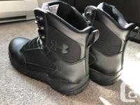 Under armour Size 9.5 men�s Blue Label safety boot.
