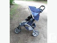 safety first jogging stroller. red and black or blue