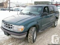 IT IS VERY CLEAN FORD EXPLORER,4X4 GOOD TIRES ON IT,IT