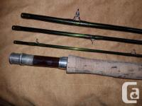 Hard to find 6 wt, 10 ft, 4 piece Z AXIS FLY ROD in