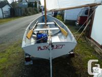Pooduck Skiff, designed by Joel White, with excellent