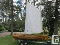 Possess a timeless! This CatsPaw Dinghy is a