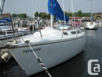 Catalina 30 1982   Tall Rig, Diesel engine, Harken