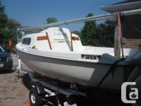 "SIREN 17 - EXCELLENT SAILBOAT  This siren is 17 ' 2"" in"