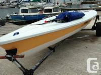 Laser device sailboat for sail -complete race rig and