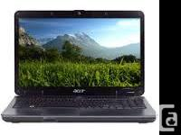 Acer Dual Core, 15.4 Widescreen, Notebook Fully