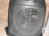 Heater - 3 Speed With A Timer - by Calore. It's