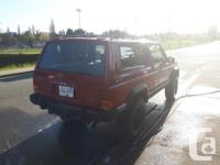 Make Jeep Model Cherokee Year 1990 Colour RED kms