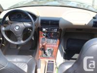 Make BMW Model Z3 Year 1996 Colour Black kms 70500