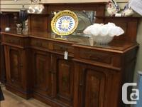 WAS: $1885.00 NOW: $1425.00 Vintage Walnut Sideboard