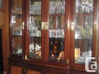 Oriental Inspired China Cabinet $300.00. Study/Craft