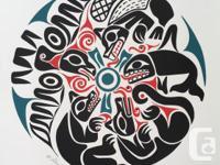 """Renowned Salish Artist William Good """"Millennium 2000"""""""