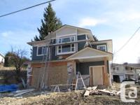 Brand new home nearing completion. This grade level