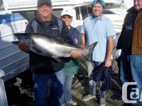 Salmon Fishing Charters Vancouver offer you a unique