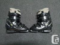 Salomon Evolution Ski Boots Womens Size 8 Micro