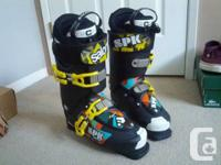 hey! i have a pair of salomon spk 90 ski boots for