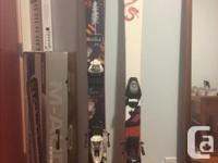 Selling my old set of Skis along with the boots and
