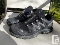 Really nice pair of Gortex Salomon shoes here. I wore