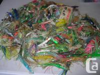 SALT WATER FISHING LURES. I have lots of lures at