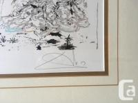 Extremely Rare, Lithograph by Salvador Dali titled,