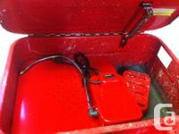 Samona 20 gallon parts washer for sale.used only a