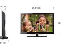 Samsung flat screen LCD tv HDMI , RCA inputs 720p with