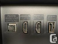 """Samsung 40"""" TV Refresh Rate: 60Hz (Native); 120 CMR"""