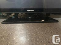 TV is in excellent condition and works great. Never had