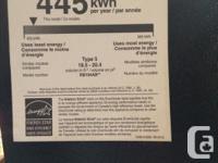 Freezer on bottom. Model RB194ABBP Serial No.