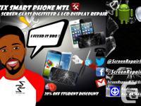 Réparation de vitre d'écran pour smartphone, Samsung