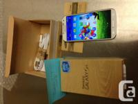 BRAND NEW 16GB Samsung Galaxy S4 - White Frost.