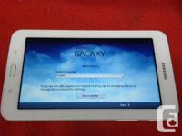 Samsung Galaxy Tab 3 Lite 8GB 7 inch wifi tablet, model, used for sale  British Columbia