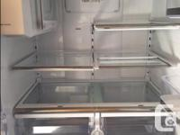 Samsung Refrigerator/Freezer Large capacity, Double
