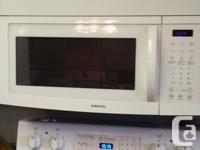 Samsung Self Cleaning Glass Top Electric Stove. Also