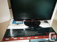 "Selling one used Samsung T240 24"" LCD monitor.  Monitor"