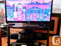 """Samsung Plasma TV 51"""" with stand plus media stand and"""