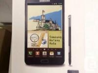 SAMSUNG GALAXY NOTE 1. all new manufacturing plant