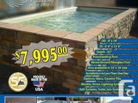 """San Juan Fiberglass Pools The """"Sedona"""" is made the same"""