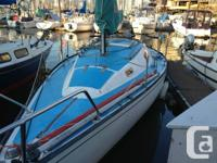 This San Juan 24 is a great boat for learning to sail