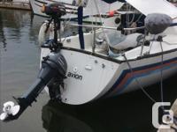 PRICE REDUCTION... Easy to sail San Juan 1979 sailboat.