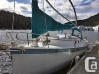 Sandpiper is a clean and well cared for Nonsuch 30