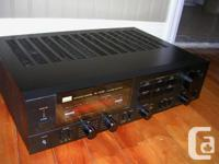 Sansui AU-G55X, Integrated Amplifier. Discrete
