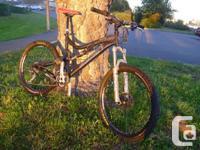 Santa Cruz 2010 Blur LT mountain bike for sale. Bike is